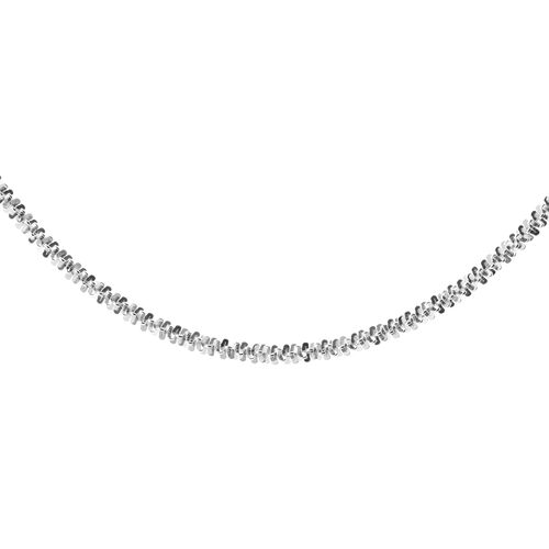 JCK Vegas Collection Sterling Silver Sparkle Chain (Size 20), Silver wt. 4.06 Gms.