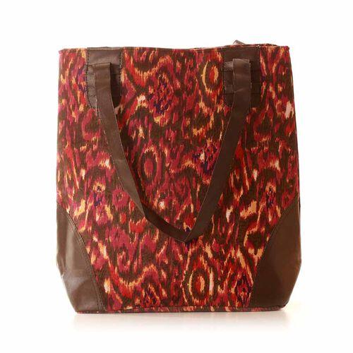 Winter City Tote Bag  (Size 42x36 Cm)