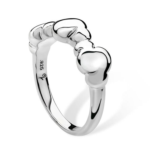 LucyQ Cloud Ring in Sterling Silver