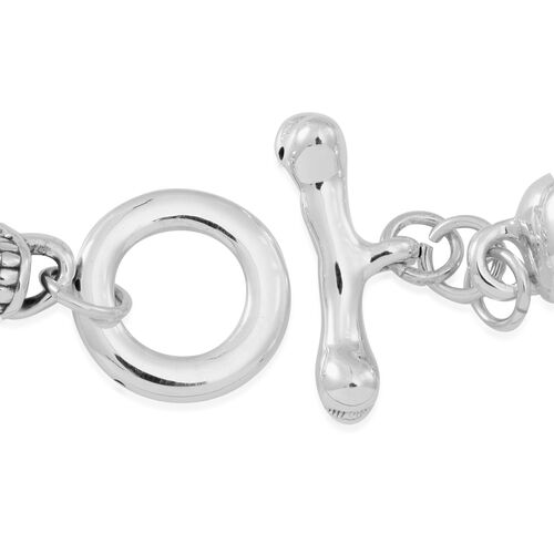 Statement Collection Sterling Silver Bracelet (Size 8), Silver wt 15.40 Gms.