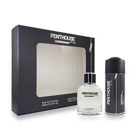 Penthouse: Legendary EDT - 100ml & Body Spray - 150ml