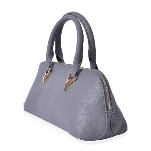 Grey Colour Tote Bag (Size 34x15x13 Cm)