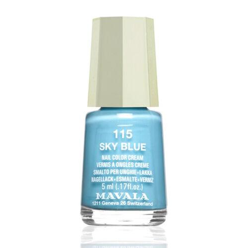 MAVALA- 3 piece Polish Set115 Sky Blue 164 Rose Dust and 180 Candy Floss