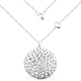 RACHEL GALLEY Allegro Pendant With Chain in Sterling Silver, Silver wt 20.49 Gms.