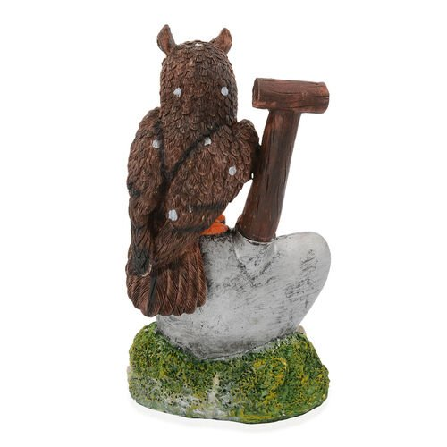 Home Decor - Brown and Orange Colour Decorative Owl