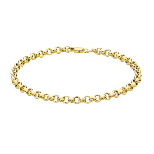 JCK Vegas Collection 9K Yellow Gold Belcher Bracelet (Size 7.25), Gold wt 1.60 Gms.