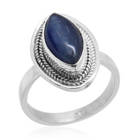 Royal Bali Collection Himalayan Kyanite (Mrq) Solitaire Ring in Sterling Silver 4.320 Ct.