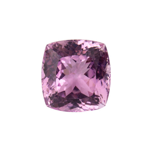 Kunzite (Cushion 17x16 Faceted 3A) 28.040 Cts