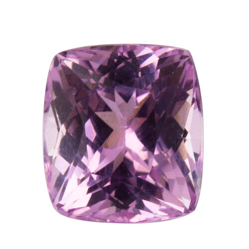 Kunzite (Cushion 13x11.5 Faceted 3A) 10.230 Cts
