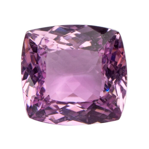 Kunzite (Cushion 14.5x14 Faceted 3A) 14.580 Cts