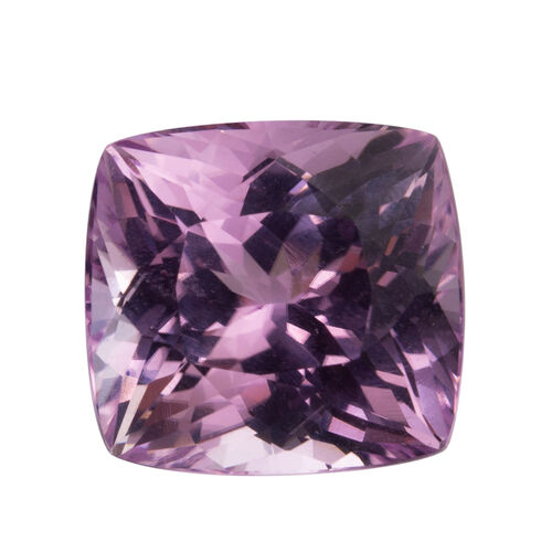 Kunzite (Cushion 16x15 Faceted 3A) 19.440 Cts