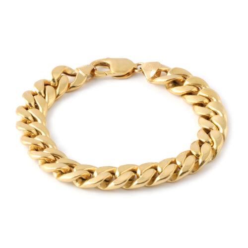 Exclusive Edition - JCK Vegas Collection 9K Y Gold Curb Bracelet (Size 8), Gold wt. 24.22 Gms.
