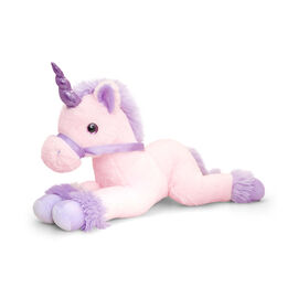 Keel Toys - Lavender and Pink Colour Unicorn (Size 35 Cm)