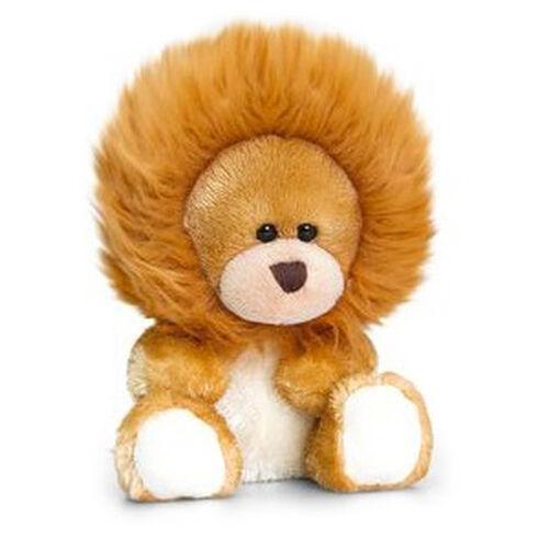 Tan Colour Pipp Bear with Onesie Lion (Size 14 Cm)