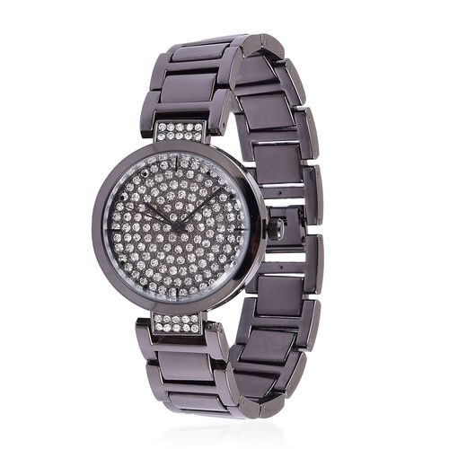 GENOA Japanese Movement Water Resistant Watch with Austrian Crystal
