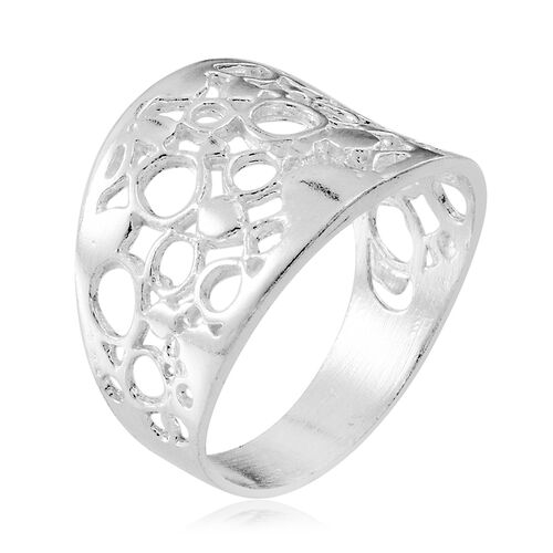 Limited Available Designer Inspired Sterling Silver Ring, Silver wt 3.48 Gms.