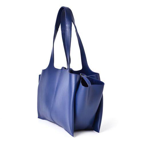 Navy Blue Colour Tote Bag (Size 53x37x25x11 Cm)