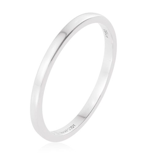Super Auction - RHAPSODY 950 Platinum Band Ring. Platinum Wt 3.00 Gms
