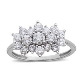 Signature Collection 950 Platinum IGI Certified Diamond (Rnd) (VS/G-H) Ring 1.000 Ct.