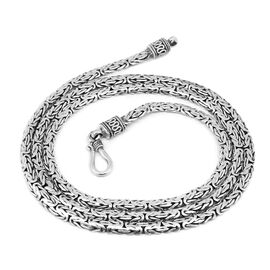 Royal Bali Collection Borobudur Necklace (Size 24) in Sterling Silver, Silver wt 28.84 Gms.