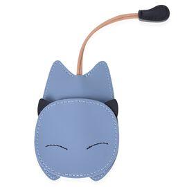 Lifestyle Day Mega Deal - Blue Colour Cat Design Key Holder (Size 14X7.7 Cm)