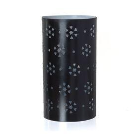 Metal Candle Holder with Flower Cut Work