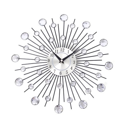 Wall Decor - Sun Rays Design Clock