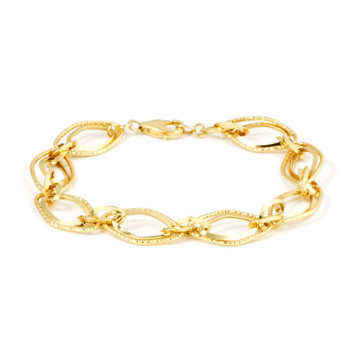 Surabaya Gold Collection 9K Yellow Gold Bracelet (Size 7.75), Gold wt 5.25 Gms.