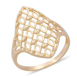 Designer Inspired Surabaya Gold Collection - 9K Yellow Gold Ring