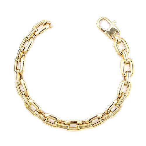 Vicenza Collection 9K Y Gold Bracelet (Size 8.5), Gold wt. 16.13 Gms.