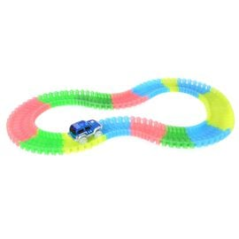 Twister Magic Tracks with Blue Colour LED Car (Size 11 Ft)