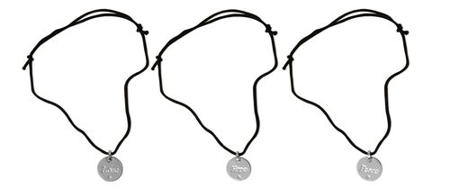 Set of 3 - Love, Hope and Peace Pendant