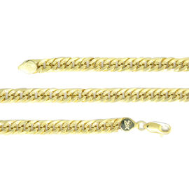 ILIANA 18K Y Gold Curb Necklace (Size 20), Gold wt 17.40 Gms.