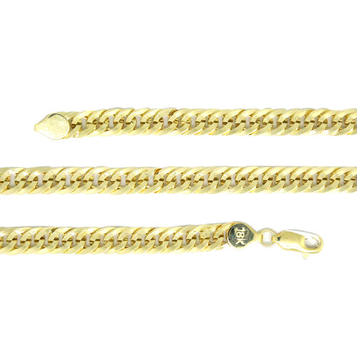 ILIANA 18K Yellow Gold Curb Necklace (Size 20), Gold wt 17.40 Gms.