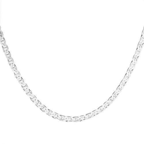 Close Out Deal Sterling Silver Marina Chain (Size 16), Silver wt 6.70 Gms.