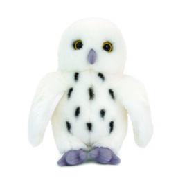 Keel Toys - White and Black Colour Owl (Size 18 Cm)