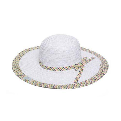 White Colour Summer Hat