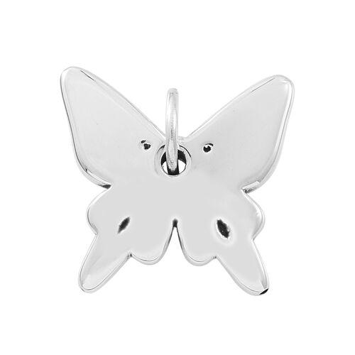 Sterling Silver Butterfly Pendant, Silver wt. 3.49 Gms.