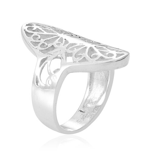 Thai Sterling Silver Ring, Silver wt 4.87 Gms.