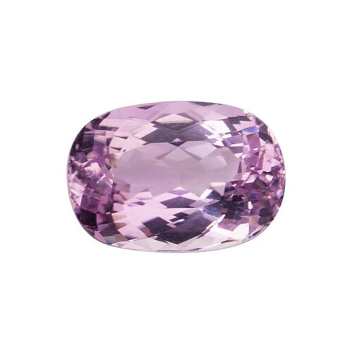 Kunzite (Oval 18x12.5 Faceted 3A) 15.410 Cts