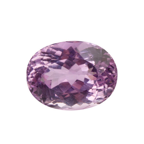 Kunzite (Oval 16x12 Faceted 3A) 12.860 Cts
