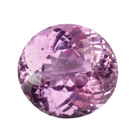 Kunzite (Oval 16.5x15.5 Faceted 3A) 19.720 Cts