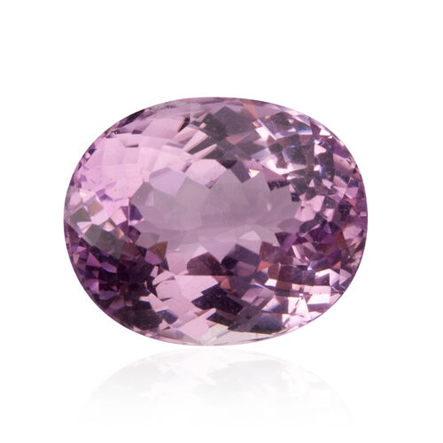 Kunzite (Oval 16.5x13.5 Faceted 3A) 15.330 Cts
