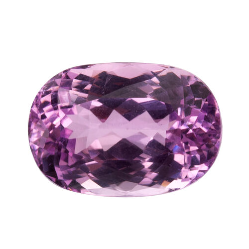 Kunzite (Oval 17.5x12 Faceted 3A) 15.070 Cts