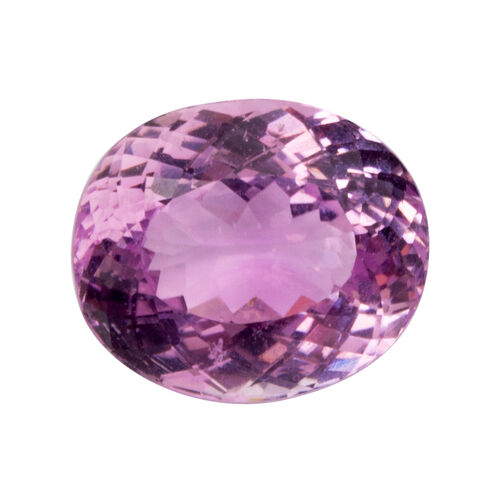 Kunzite (Oval 15x12.5 Faceted 3A) 11.040 Cts