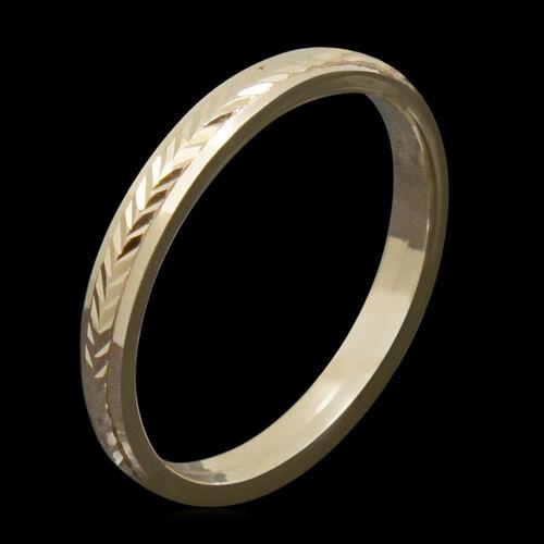 JCK Vegas Collection 9K R Gold Band Ring