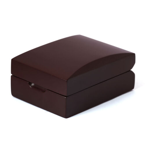 Dark Chocolate Colour Wooden Box for Earrings