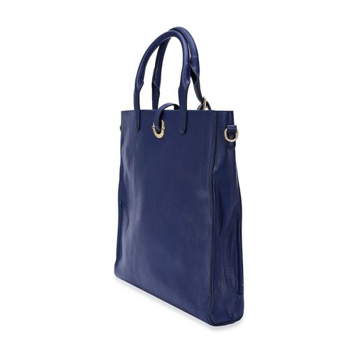 Set of 2 - Olivia Tote Bag with Adjustable and Removable Shoulder Strap (Large 38x35 Cm) and (Small 31x30 Cm)