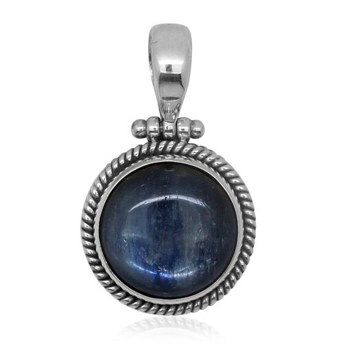 Royal Bali Collection Himalayan Kyanite (Rnd) Pendant in Sterling Silver 16.920 Ct.