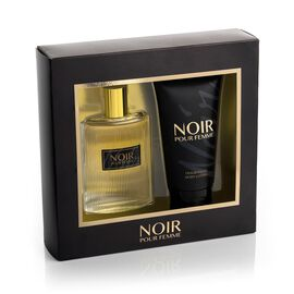 Noir Pour Femme by Prism Parfums 100ml EDT 150ml Body Lotion estimated dispatch 5-7 working days